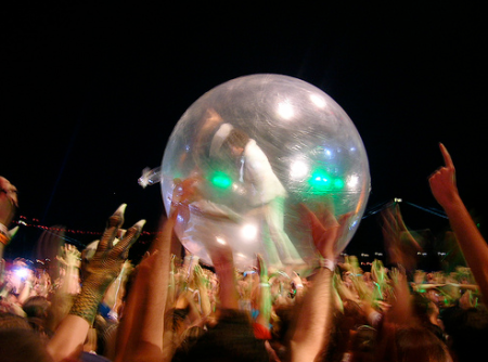 flaming lips at festival pier