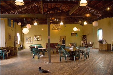 Yards brewery interior