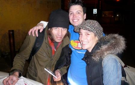 Evan Dando backstage at the Trocadero Theatre,Philadelphia