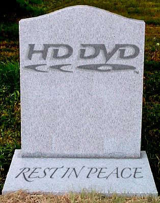 HD DVD is dead