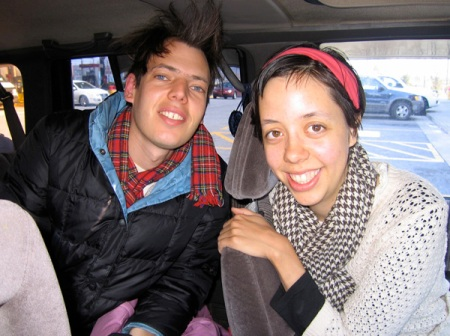 Jeffrey Lewis and Helen in Philly