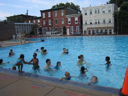 Francisville swimming pool. RIP