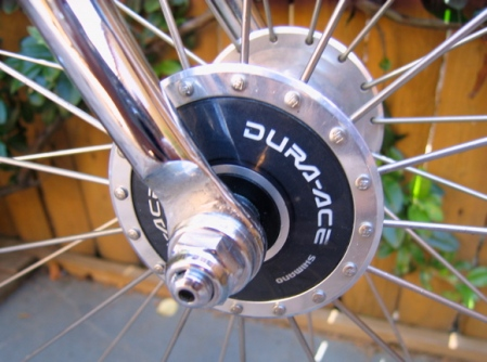 Dura-Ace track hub