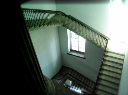 stairway in founders hall