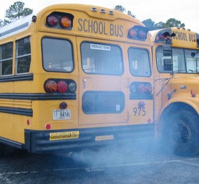 bus exhaust