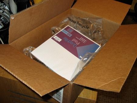 waste of packaging