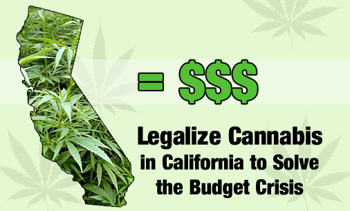 Cannabis supporters in California