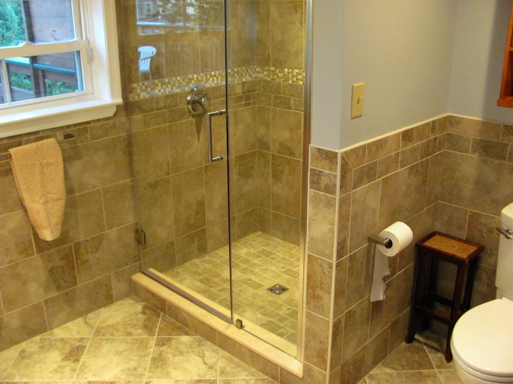 Bathroom Remodel Before During After
