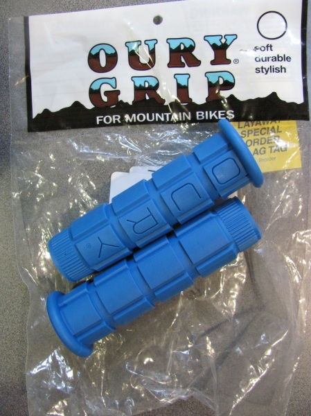 Oury grip blue